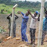 The Water Project: Mukoko Community, Zebedayo Mutsotsi Spring -  Fencing