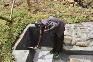 The Water Project:  Albert Mutsotsi Spring Chair Excited About Flowing Water