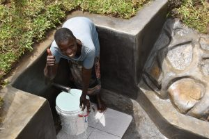 The Water Project:  Josephine Ondeyo Posing At The Water Source