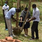 The Water Project: Mukoko Community, Zebedayo Mutsotsi Spring -  Making A Simple Handwashing Tippy Tap