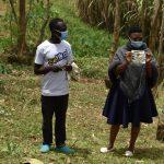 The Water Project: Mukoko Community, Zebedayo Mutsotsi Spring -  Mask Making