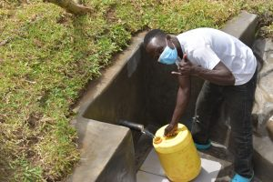The Water Project:  Okanga Smith Excited About The New Water Source