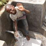 The Water Project: Mukoko Community, Zebedayo Mutsotsi Spring -  Paul Happy About The New Water Source