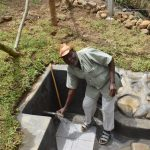 The Water Project: Mukoko Community, Zebedayo Mutsotsi Spring -  Zebedayo Mutsotsi Posing At The Water Source