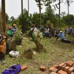 The Water Project: Mukoko Community, Zebedayo Mutsotsi Spring -  Practicing Contactless Greetings