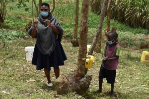 The Water Project:  Young Fred Practices Handwashing With A Tippy Tap