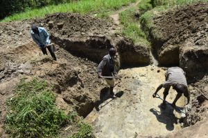 The Water Project:  Excavation Process