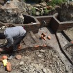 The Water Project: Mukhuyu Community, Gideon Kakai Chelagat Spring -  Staircase Construction