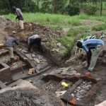 The Water Project: Mukhuyu Community, Gideon Kakai Chelagat Spring -  Stone Pitching