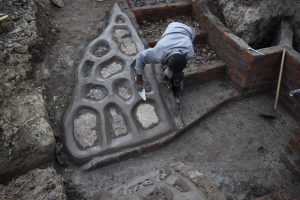The Water Project:  Plastering The Stone Pitching