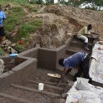 The Water Project: Mukhuyu Community, Gideon Kakai Chelagat Spring -  Plaster Works