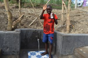 The Water Project:  Enoc Sharing Thanks For Clean Water