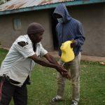 The Water Project: Mukhuyu Community, Gideon Kakai Chelagat Spring -  Handwashing Session
