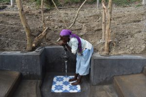 The Water Project:  Sipping Water