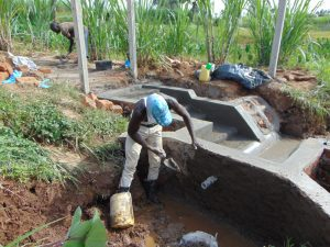 The Water Project:  Inside Plastering