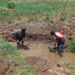 The Water Project: Shihome Community, Oloo Njinuli Spring -  Excavation