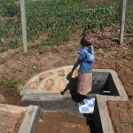 The Water Project: Shihome Community, Oloo Njinuli Spring -  All Smiles
