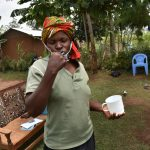 The Water Project: Shihome Community, Oloo Njinuli Spring -  Dental Hygiene Demonstration