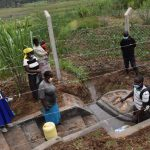 The Water Project: Shihome Community, Oloo Njinuli Spring -  Onsite Training