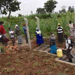 The Water Project: Shihome Community, Oloo Njinuli Spring -  Onsite Training On Spring Management
