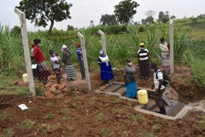 The Water Project:  Onsite Training On Spring Management