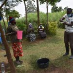 The Water Project: Shihome Community, Oloo Njinuli Spring -  Trainer Sam Teaches Ten Steps Of Handwashing