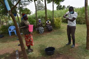 The Water Project:  Trainer Sam Teaches Ten Steps Of Handwashing