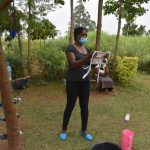 The Water Project: Shihome Community, Oloo Njinuli Spring -  Training On Mask Making