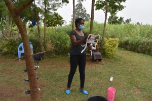 The Water Project:  Training On Mask Making