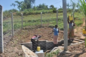 The Water Project:  Thumbs Up At The Spring