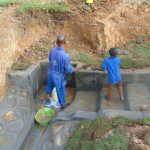 The Water Project: Shianda Commnity, Mukeya Spring -  Planting