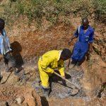 The Water Project: Shianda Commnity, Mukeya Spring -  Excavation