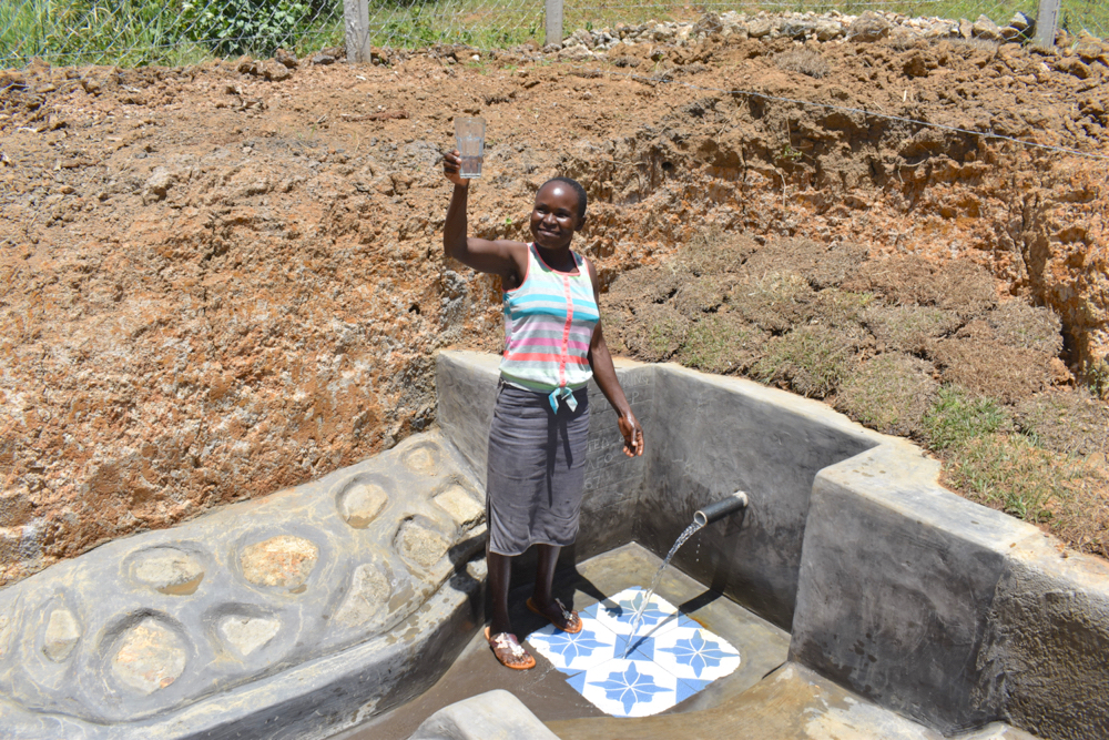 The Water Project : kenya21067-a-toast-to-clean-water