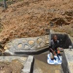 The Water Project: Shianda Commnity, Mukeya Spring -  An Overjoyed Thomas