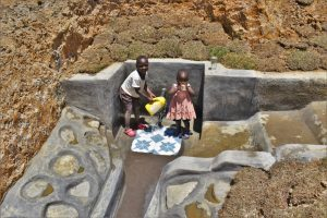 The Water Project:  Children Fetching Water