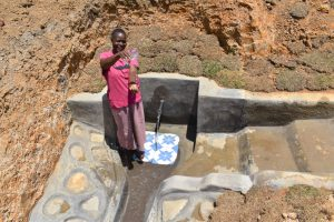 The Water Project:  Elizabeth Celebrating The Spring
