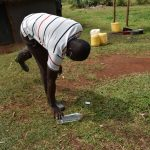 The Water Project: Shianda Commnity, Mukeya Spring -  Solar Disinfection Session