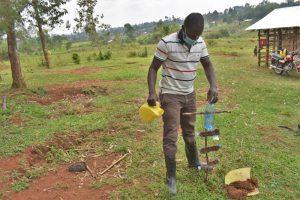 The Water Project:  Trainer Sam Teaches Kitchen Gardening