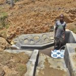 The Water Project: Shianda Commnity, Mukeya Spring -  Zablon At The Spring