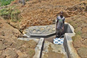 The Water Project:  Zablon At The Spring