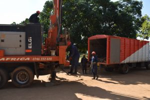 The Water Project:  Assembling Tools For Drilling