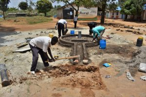 The Water Project:  Soak Pit Digging