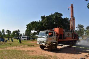 The Water Project:  Rig Machine Drilling