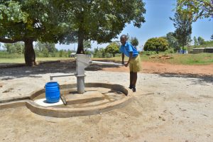 The Water Project:  Jeff Fetching Water