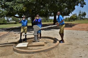 The Water Project:  Pupils Drinking Clean Water