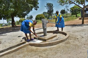 The Water Project:  Washing Hands At The Well