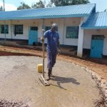 The Water Project: Gidimo Primary School -  Pouring Concrete Foundation