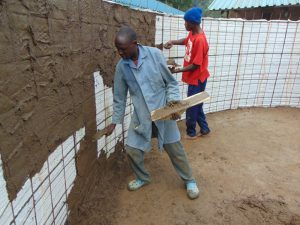 The Water Project:  Interior Plastering
