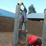 The Water Project: Gidimo Primary School -  Building The Pillars