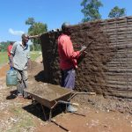The Water Project: Gidimo Primary School -  Exterior Plastering